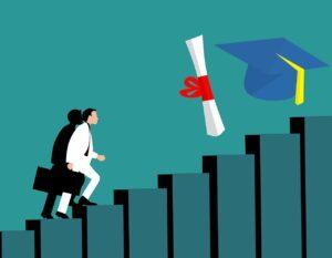 Concours et examen pour être diplômé