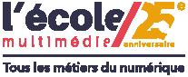 Logo de l'école multimédia